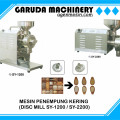 Mesin Pembuat Tepung ( DISC MILL SMACHINE SY-1200 / SY-2200)