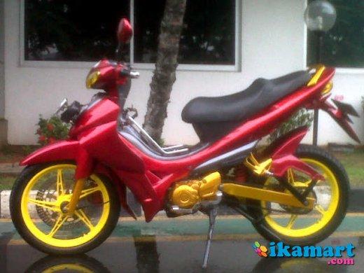 Jual Jupiter Z Merah 2004 Modif Motor Bekas Yamaha Jupiter Z