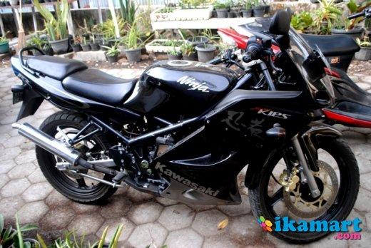 Jual Ninja Rr Item150cc Plat Aa Fast Sale Motor Bekas Kawasaki
