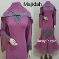 Gamis Majidah Dusty Purple