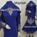 Gamis Majidah Elektrik Blue