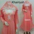 Gamis Khairiyah + shawl Salem