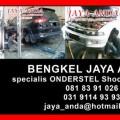 Perbaikan Kerusakan Onderstel Mobil di Surabaya.Bengkel JAYA ANDA. Khusus Onderstel