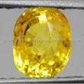 Sparkling Lemon Yellow SAPPHIRE Sri Lanka - BSC 070