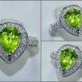 Beautiful Sparkling Fresh PERIDOTH Crystal Mulus - RL 144