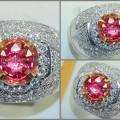 Sparkling Antik Hot PADPHARASCHA Cristal TOP + GRS - PP 075