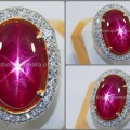 TOP Exclusive Pigeon Blood RUBY Star - RBS 145