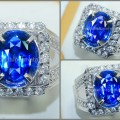 Sparkling Blue SAFIR Srilanka - SPC 138