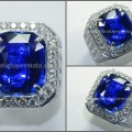 Super TOP Quality KASMIR BLUE SAFIR Cutting. Crystal Mulus - SPC 246