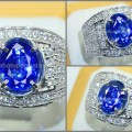 Exclusive Royal Blue SAFIR Srilanka - SPC 133
