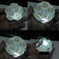 Sabuk Buckle Spinning Revolver Cylinder Bullet