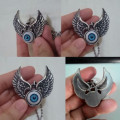 Kalung Wing Eye Pendant Stainless Steel