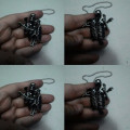 Kalung Absenteeism Skull Stainless Steel