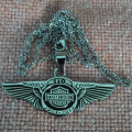 Kalung Harley Anniversary 110th Wing Stainless Steel