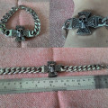 Gelang Cross Skull Stainless Steel