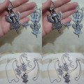 Kalung Harley Stone Wings Stainless Steel