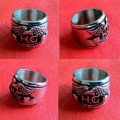 Cincin HOG Wings Stainless Steel