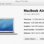 Jual Macbook Air 1.3ghz Dual-core Intel Core i5