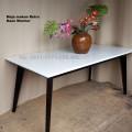 meja marmer persegi panjang 90x170cm