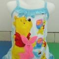 Tank Top Anak dan Celana Anak Winnie The Pooh Biru