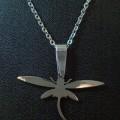 Dragonfly Necklace # 02 (T01-050) / Kalung Titanium / Kalung Titanium Murah