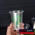 Sablon/Cetak Logo Gelas Thai Tea (GELAS CUP PLASTIK PP)12oz 8grm