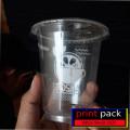 cup plastik sablon 2 sisi 1 warna 2000pcs ( BSM/ lebih tebal) antar