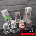 Sablon gelas pelastik cup,paper cup,dan paper bwol.