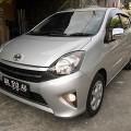 Toyota Agya G 1.0 Matik th 2015 asli Bali istimewa