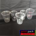 Sablon Cup Plastik 14 oz tanpa tutup