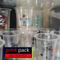 Sablon/Printing GELAS Thai Tea (GELAS CUP PLASTIK PET)12oz
