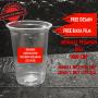 gelas plastik cup sablon logo custom 16 oz oval 8 gram. Preorder ... sablon gelas plastik cup 16 oz datar 9 gram cetak l