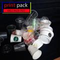 Gelas Thai Tea Sablon/Printing (GELAS CUP PLASTIK PET) 28oz