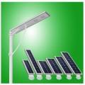 lampu jalan LED 25 Watt, PJU ALL IN ONE 25 Watt, Integrated Solar Street Light