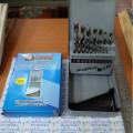 matabor besi kayu aluminium 25Pc Set Fujiyama,drill bit HSS
