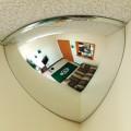 quarter dome mirror corner convex security,cermin Persimpangan sudut