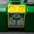 Eyewash portable station,pencuci mata darurat persamaan haws 7501