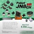 PAKET JN8CH DVR JUAN 8 Channel HDD EFFIO Gen-01 Harga Murah