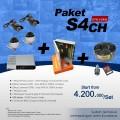 PAKET S4CH DVR 4 CH SDCard EFFIO Harga terMurah