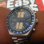 Jual Seiko vintage chronograph Big blue 6138 0030 Original