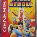 World Heroes SEGA Genesis-MD US NTSC Authentic