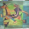 Lukisan Tema Kuda Lumping
