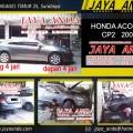 BENGKEL JAYA ANDA spesialis ONDERSTEL mobil Honda di Surabaya