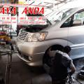 Bengkel Onderstel Mobil JAYA ANDA Surabaya.Camry