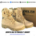 "Grosir sepatu safety murah, sepatu army murah malang Delta force 8"" desert"