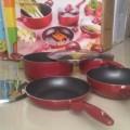 Panci masak supra rosemary wokpan 7pcs harga murah