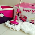 SuperMoop Pel Lantai Pembersih Rumah Solitaire Magic Mop Serbaguna