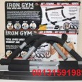 Iron Gym Alat Fitnes Pull Up Bar Pengencang Otot Lengan Paha
