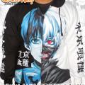 Jaket Kaneki-ken Tokyo Ghoul Black White - Anime Distro Surabaya