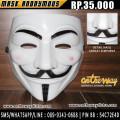 Topeng Anonymous Murah Surabaya - Anime Distro Surabaya